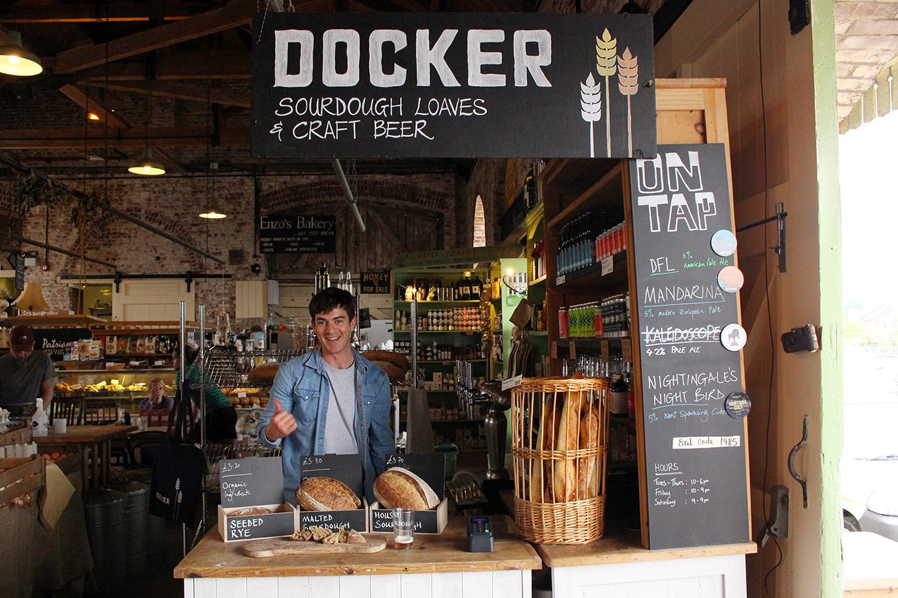 Docker at the Goods Shed