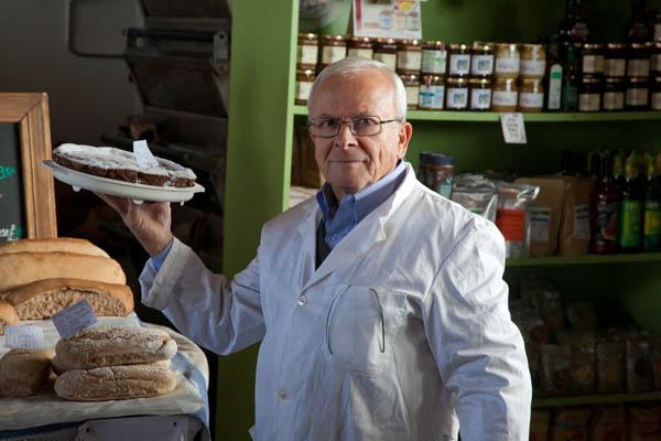 Artisan bakery, fresh handmade bread