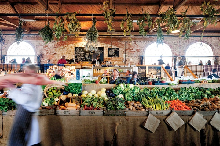 The Goods Shed Veg Stall