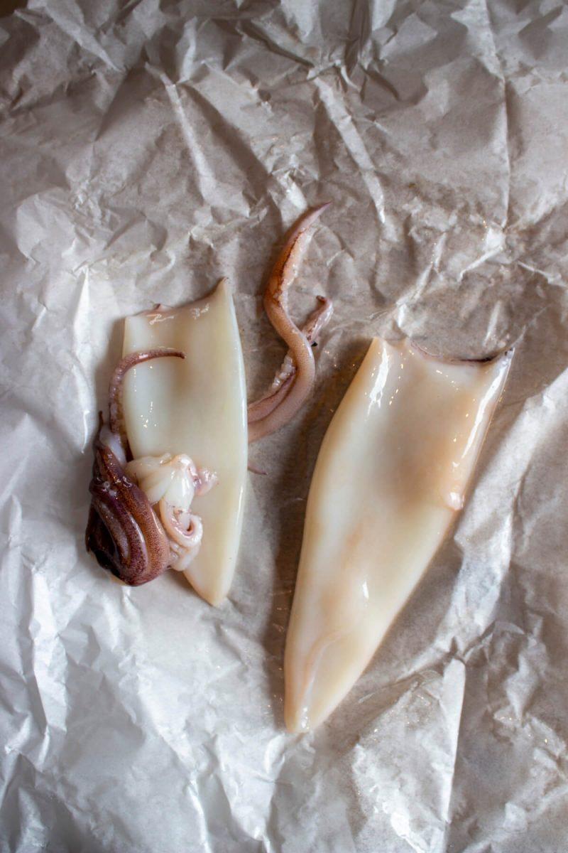 Prepared Squid