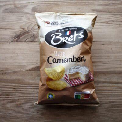 Brets Crisps Camembert