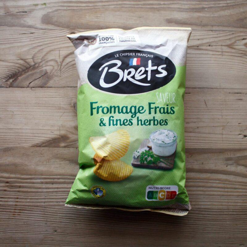 Brets Crisps Fromage Frais