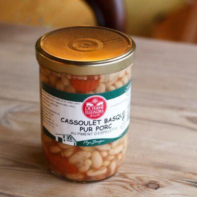 Cassoulet Basque Pur Pork