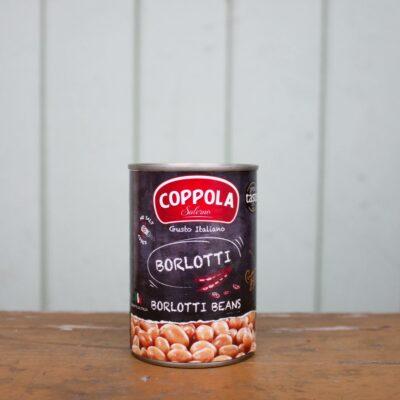 Coppola Borlotti Beans Tin