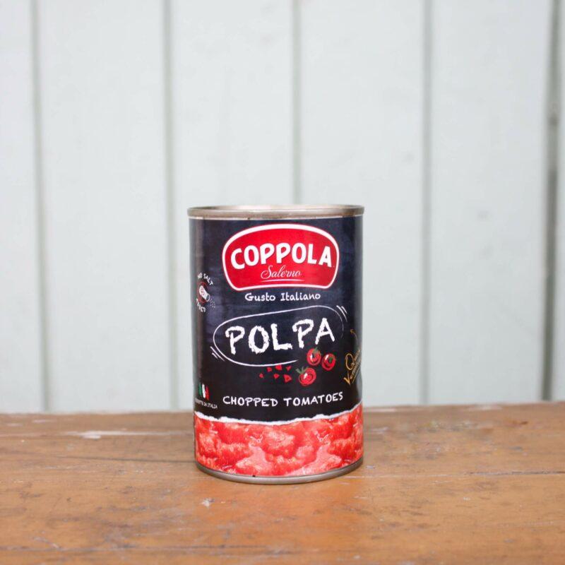 Coppola Chopped Tomatoes Tin