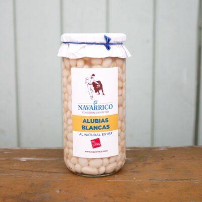 El Navarico Alubias Blancas Jar