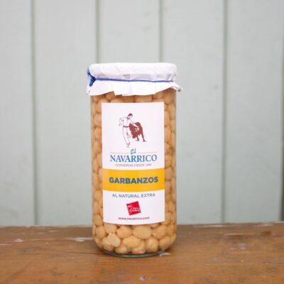 El Navarico Garbanzos Jar