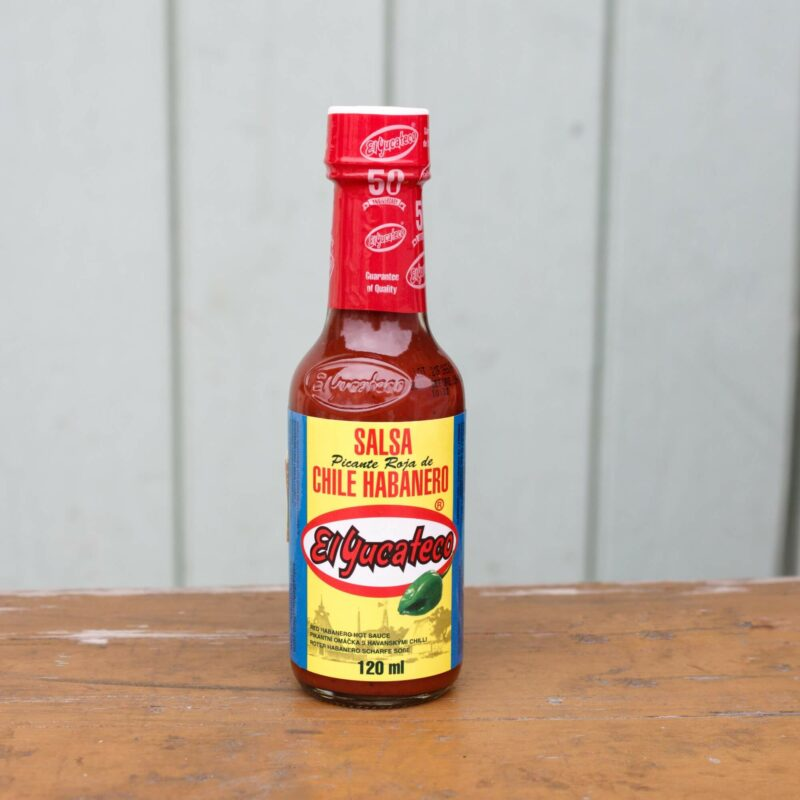 El Yucateco Roja Habanero Hot Sauce