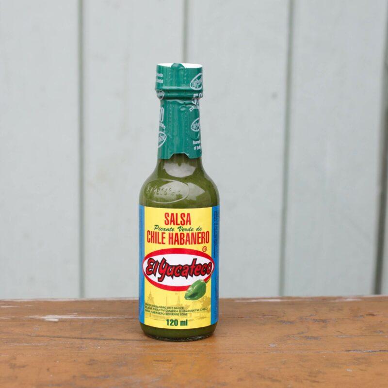 El Yucateco Verde Habanero Hot Sauce