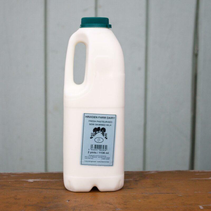 Hinxden Farm Semi Skimmed Milk