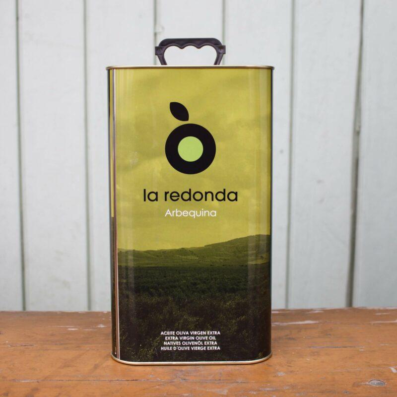 La Redonda Extra Virgin Olive Oil Medium Cannister