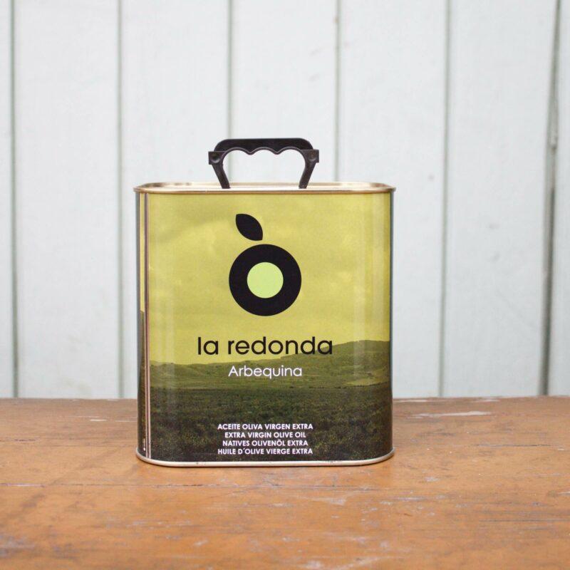 La Redonda Extra Virgin Olive Oil Small Cannister