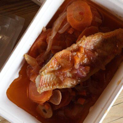 Mackerel Escabeche 2