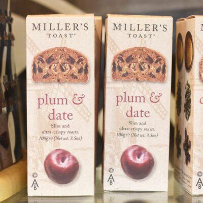 Millers Toast Plum Date