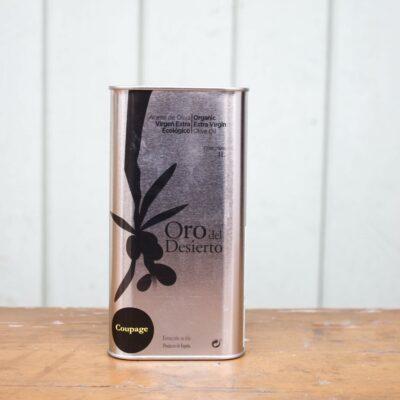 Oro Del Desierto Extra Virgin Olive Oil Small Cannister