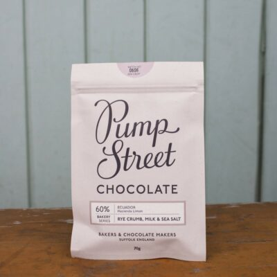 Pump Street 60percent Rye Crumb Milk And Sea Salt Chocolate Bar