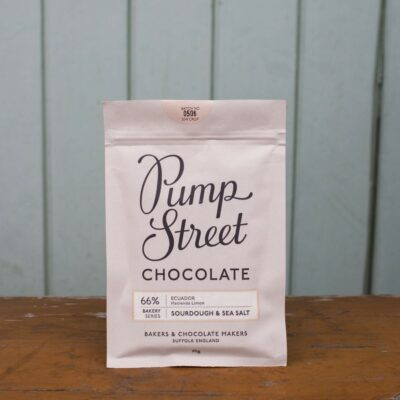 Pump Street 66percent Sourdough And Sea Salt Chocolate Bar