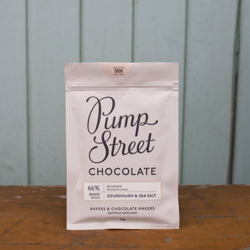Pump Street 66percent Sourdough And Sea Salt Chocolate Bar