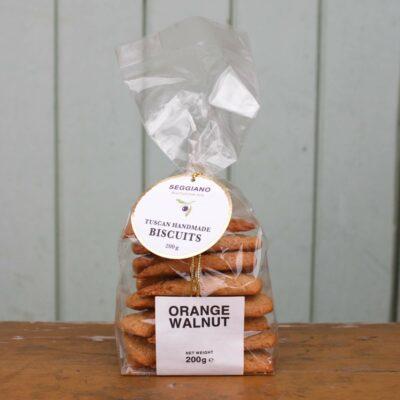 Seggiano Orange And Walnut Cantuccini Biscotti