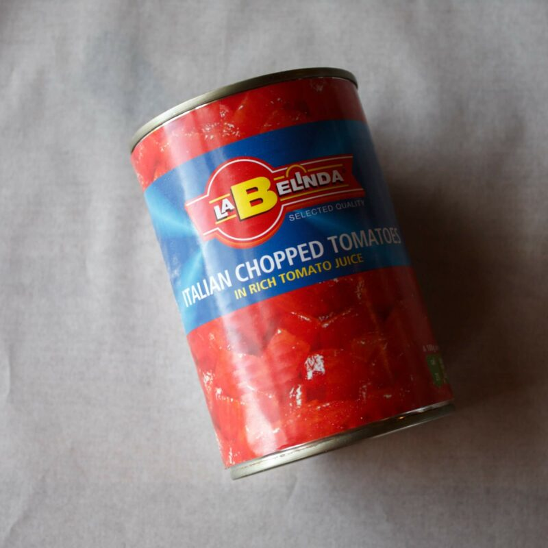 Tinned Chopped Tomatoes