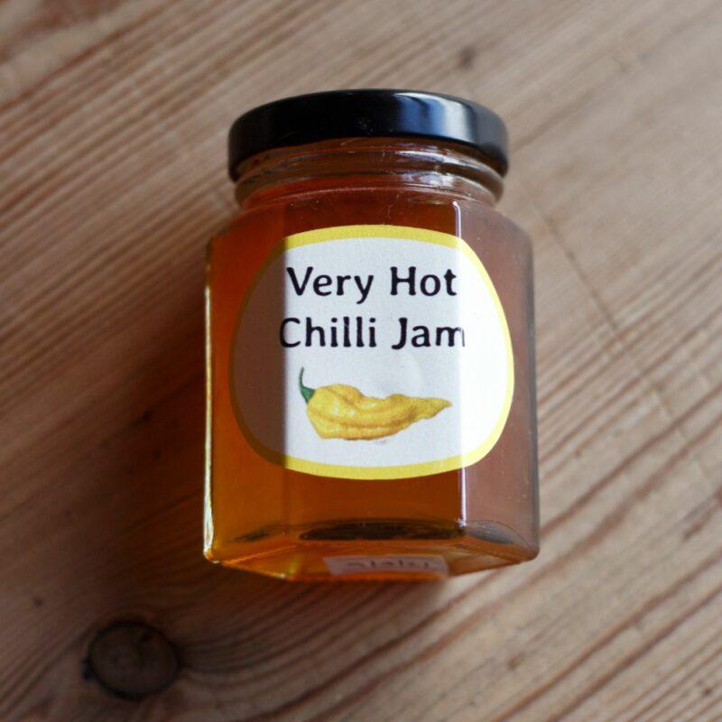 Very Hot Chilli Jam
