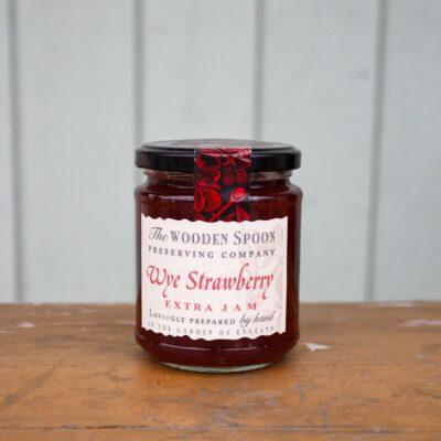 Wooden Spoon Strawberry Jam