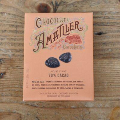 70 Percent Cacao Leaves Box