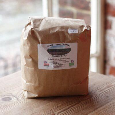 Organic Stone Ground Wholemeal Plain Flour Largejpg