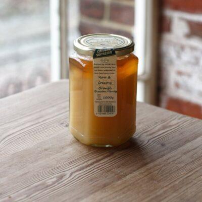 Raw Spanish Orange Blossom Honey Large