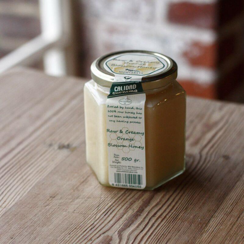 Raw Spanish Orange Blossom Honey Small