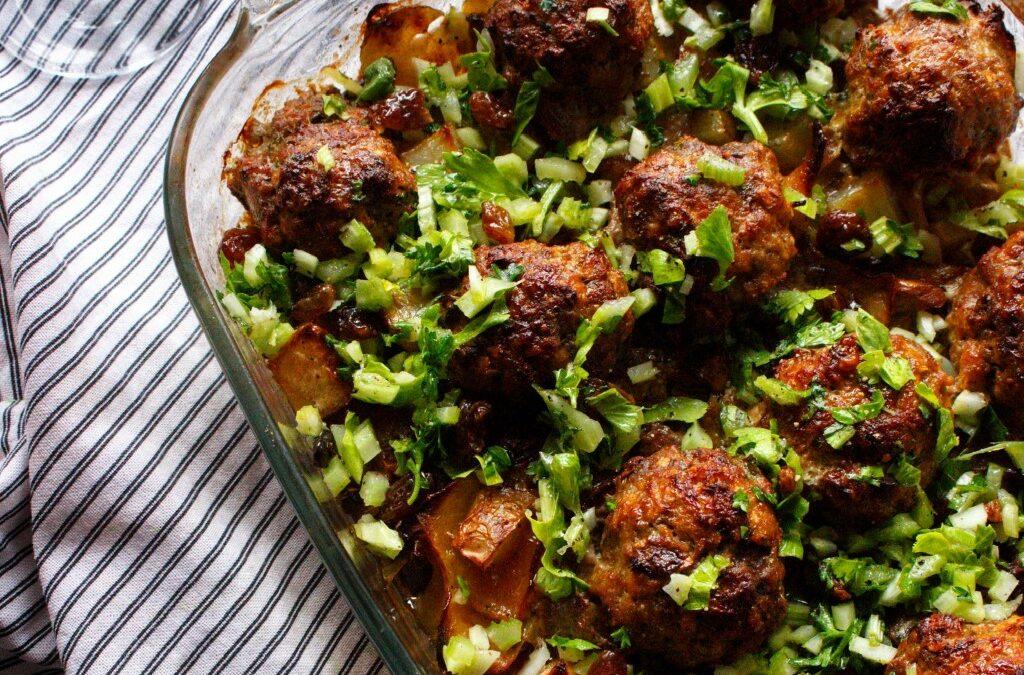 Mince Recipes: Zaragoza Meatballs
